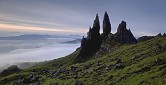 The Storr rock formations, Skye, Scotland